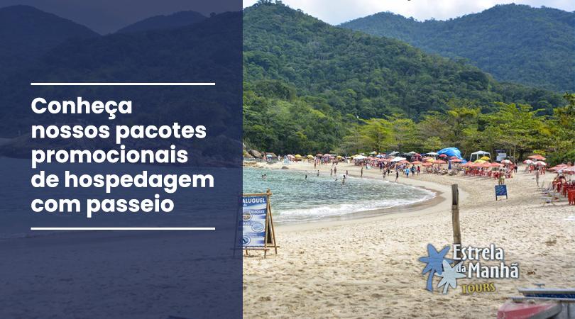 Conheça os pacotes promocionais de hospedagem com passeios em Paraty