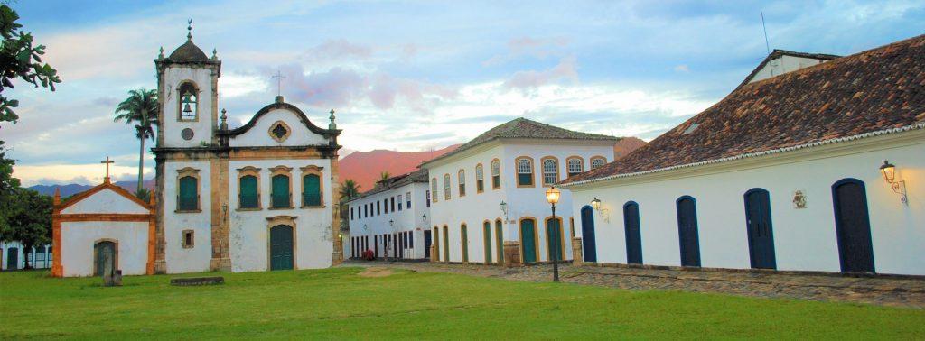 Igreja de Santa Rita em Paraty - RJ