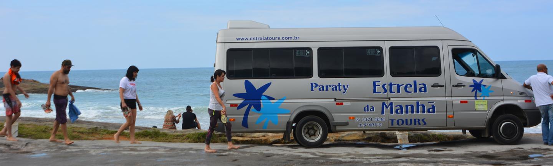 Passeios em Paraty com a Agência Estrela Tours