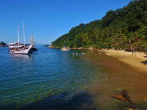 Praia da Lula - Ponto de parada dos passeio de barco das Escunas Estrela da Manhã